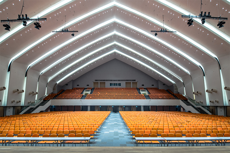 GOLDEN JUBILEE CONVENTION HALL RENOVATION - KHON KAEN UNIVERSITY